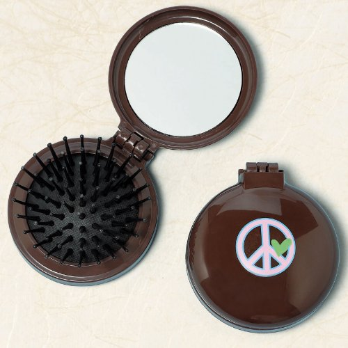 Hippie Chick Flip Brush Party Accessory