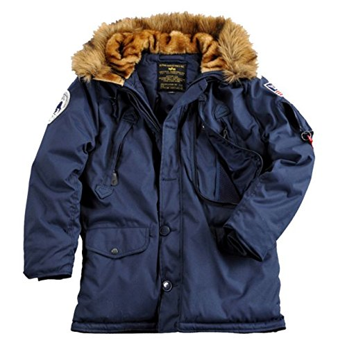 Alpha Ind. Jacke Polar Jacket Down- rep. blue günstig kaufen