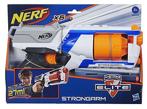 Nerf Elite - Lanzadardos Strongarm (Hasbro 36033E35)
