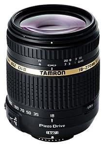 Tamron B008N AF 18-270 mm F/3.5-6.3 Di II VC PZD, LD, ASL (IF) MACRO - Objetivo para Nikon (distancia focal 18-270mm, apertura f/3.5-6,3, estabilizador óptico, motor de enfoque, macro, diámetro: 62mm) negro