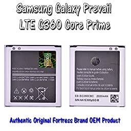 Replacement Battery for Samsung Galaxy Prevail LTE G360 360 Core Prime (Boost Mobile, Verizon, Virgin Mobile) (Battery)