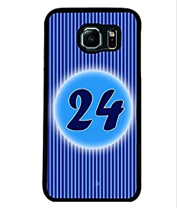 Fuson 2D Printed Numerology Designer back case cover for Samsung Galaxy S6 G920 - D4244