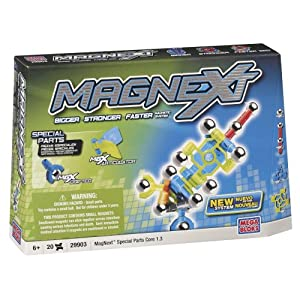 Mega Bloks Magnext 20 Count Special Parts Core 1.3