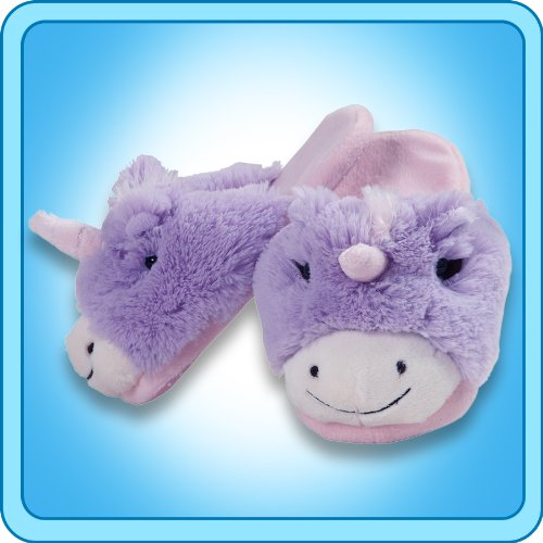 My Pillow Pets Unicorn Slippers Small(Kids) front-467231