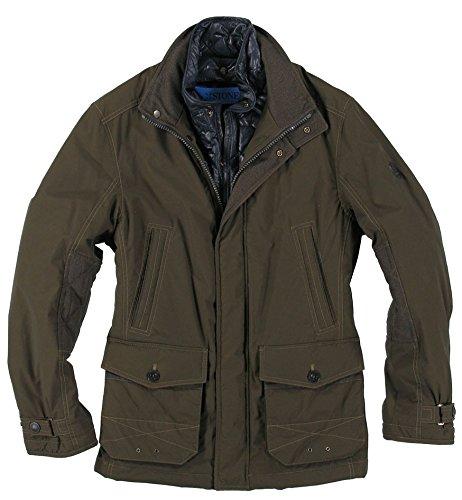 Sportliche Herren Baumwoll-Jacke der Marke Stones, H/W 15 in Grün, Art. Coltrane (804003-37409-0-0) jetzt bestellen