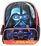"""Lego Star Wars Darth Vader Large Backpack Boys School Book Bag 16"""""""