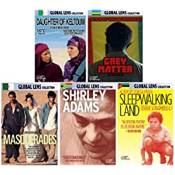 Global Lens - The Best of World Cinema - Volume 1: Africa - 5 DVD Collector's Edition