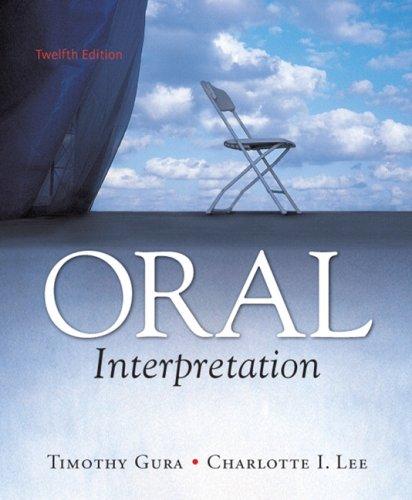 Oral Interpretation (12th Edition)