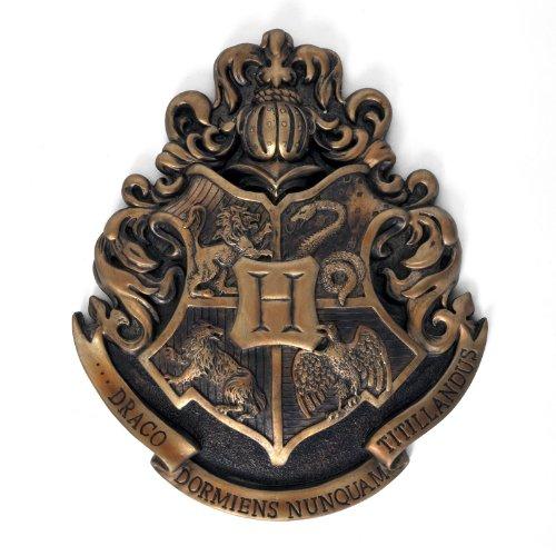 Harry Potter – Hogwarts Wappen Wandbild Metall 28 x 30 cm