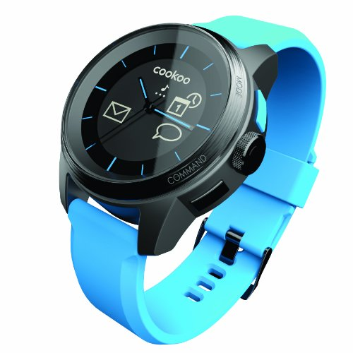 Cookoo SmartWatch Bluetooth Azul para iPhone