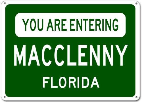 Macclenny City Sign