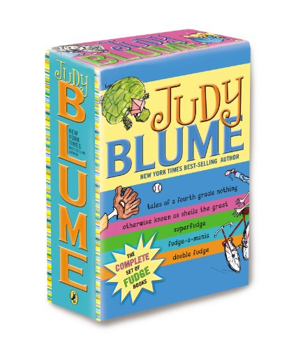 Cover of Judy Blume's Fudge Box Set