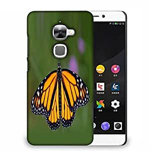 Snoogg Monarch Butterfly Designer Protective Phone Back Case Cover For Samsung Galaxy J1