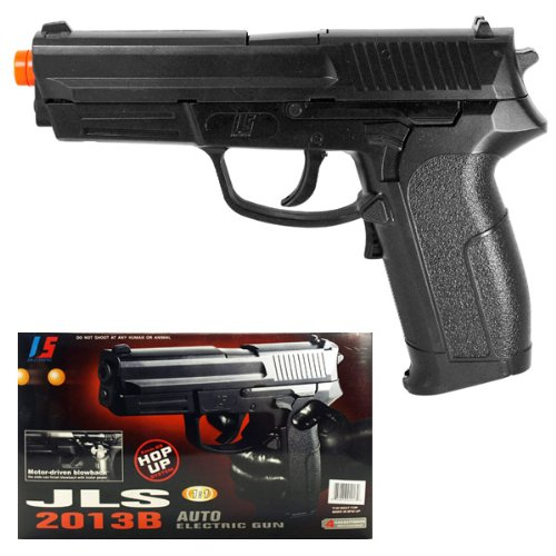 JLS 2013B Full/Semi Auto Blowback Electric Airsoft Pistol Gun —NEW!!
