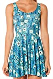 G1260 Summer Blue Disney Printed Vest With Dress