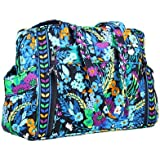 Vera Bradley Make a Change Baby Bag (Midnight Blues with Solid Navy Interior)
