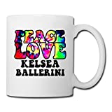 White Peace Love Kelsea Ballerini Country Music Cool Mugs Espresso Cups,Mug Printing,Unique Mug,Large Mugs,White Coffee Mugs,Coffee Mugs,Mugs,Personalized Mugs,Photo Mugs Photo Mugs