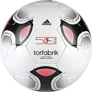 adidas Fußball Torfabrik 2012 Training Sportivo, white/black, Z01351