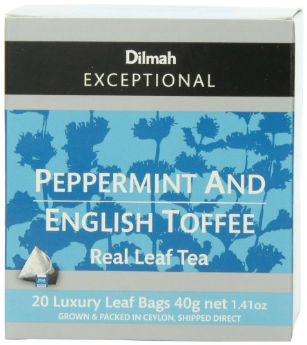 dilmah-exceptional-leaf-peppermint-english-toffee-20-tea-bags141-ounce-boxes-pack-of-6
