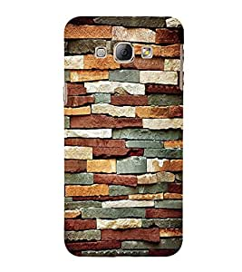 Expensive Rock Pattern Cute Fashion 3D Hard Polycarbonate Designer Back Case Cover for Samsung Galaxy A8 (2015 Old Model) :: Samsung Galaxy A8 Duos :: Samsung Galaxy A8 A800F A800Y