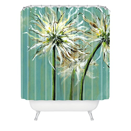 Deny Designs Land Of Lulu Light Catchers Extra Long Shower Curtain, 71 By 94-Inch front-366039