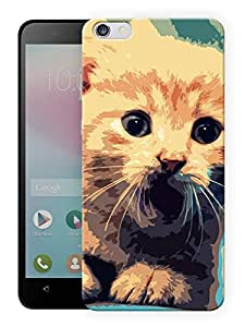 """Humor Gang Cat Poster Art Printed Designer Mobile Back Cover For """"Huawei Honor 4X"""" (3D, Matte, Premium Quality Snap On Case)"""
