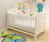 East Coast Angelina Cot Bed White