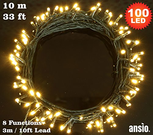 fairy-lights-100-led-warm-white-indoor-outdoor-string-lights-8-functions-10m-33ft-lit-length-with-3m