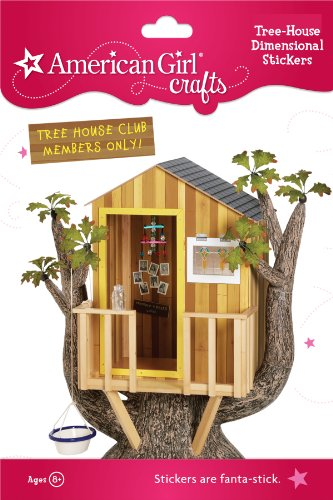 American Girl Crafts Stacked Stickers, Tree House