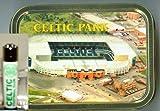 Celtic Football Club Clipper Lighter 2oz Tobacco Tin