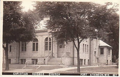 E3410 WI, Ft. Atkinson Science Church Photo Postcard (Wi Ft compare prices)