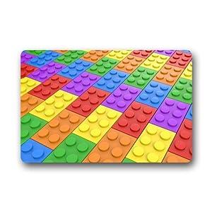 Amazoncom Colorful Lego Blocks Bricks Pattern