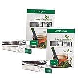 Sunshine Lemongrass Tea - 10 Tea Sticks (Set Of 2)