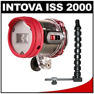 Intova ISS 2000 Underwater Slave Flash with Arm & Mounting Bracket
