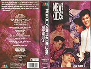 New Kids on the Block-Step By Ste [VHS]