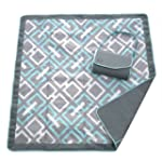 JJ Cole JEMGL Essentials Blanket, Gra...