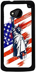 Printvisa 2D-HTCM7-D8114 Mobile Case Cover for HTC One M7