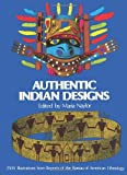 img - for Authentic Indian Designs (Dover Pictorial Archive) book / textbook / text book