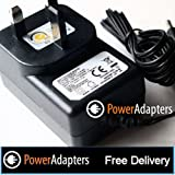 Hitachi PDV302 Portable DVD player AC/DC UK Mains charger