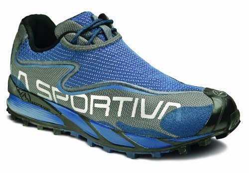La Sportiva Women's C-Lite 2.0 Trail Running Shoe,Blue/Grey,38.5 EU/7.5 M US