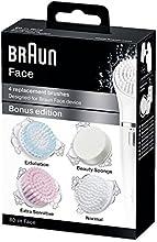 Comprar Braun Face - Cepillos de recambio para dispositivo de limpieza facial, 4 cepillos