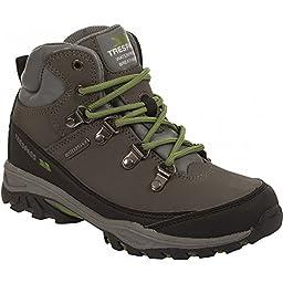 Trespass Youths Unisex Glebe Technical Walking/Hiking Boots (5 US) (Gull)
