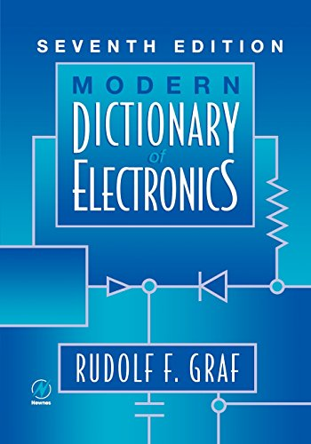 Modern Dictionary Of Electronics, Seventh Edition