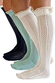 The Original Button Boot Socks with L…