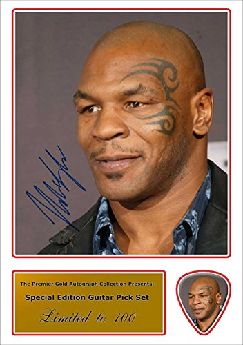 mike-tyson-signed-photo-and-matching-guitar-pua-para-guitarra-autograph-pua-para-guitarra-set