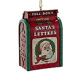 Kurt Adler -Vintage Santa's Letter Mailbox Ornament