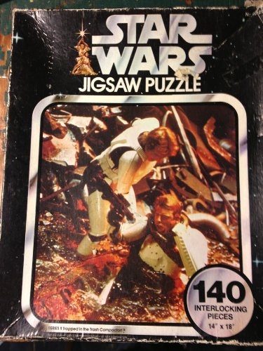 Star Wars Jigsaw Puzzle Series II Trapped in the Trash Compactor - 1