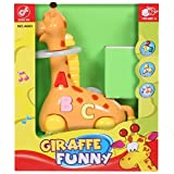 Battery Operated Hula Hoop Bump And Go Giraffee Toy For Kids