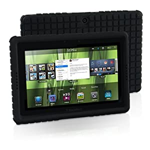 Snugg Blackberry Playbook Squared Skinny Fit Protective Case Cover in Black