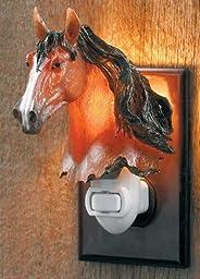 Bay Horse Night Light